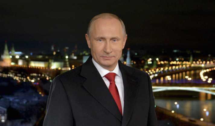 Putin pada Pidato Tahun Baru