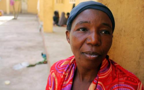 Hadiya Dashiru dan enam anaknya ditawan di Sambisa Forest selama 11 bulan. (Chika Oduah)