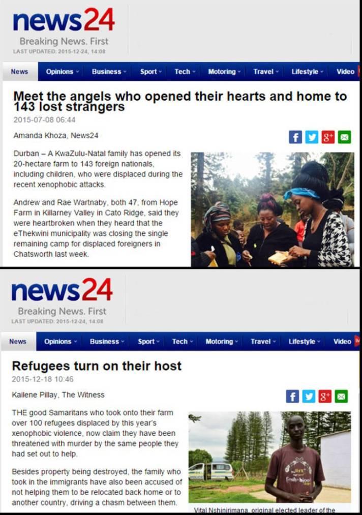 Pengungsi Afrika Selatan