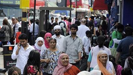 Imigrasi masal ke Inggris